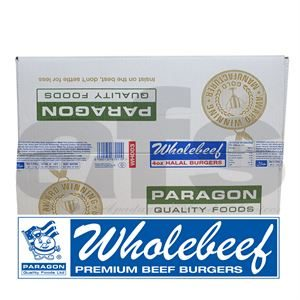 PARAGON WHOLEBEEF BURGER [48 X 113g] *H