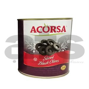 OLIVES BLACK SLICED [3Kg]