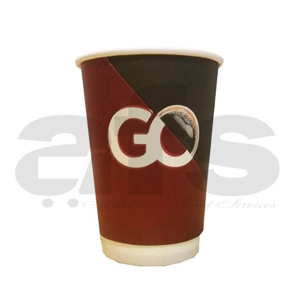 DOUBLE WALLED INSULATED PRINTED CUP 12oz [20 PCS]