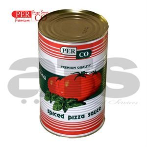 PIZZA SAUCE PERCO LARGE TINS [3 X 4.1Kg]