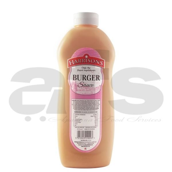 BURGER SAUCE HARRISONS [970ML]