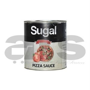PIZZA SAUCE SUGAL PLAIN [6 X 3Kg]