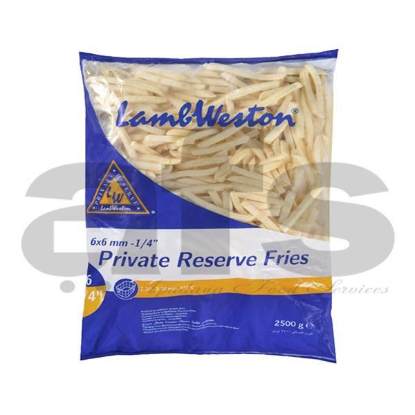 FRIES - LW PRIVATE RES JULIENNE 6x6 [10Kg] F62