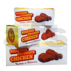 LARGE CHICKEN BOXES - FC3 [200 PCS]