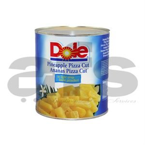 PINEAPPLE LARGE - PIZZA CUT - TIN [3Kg]