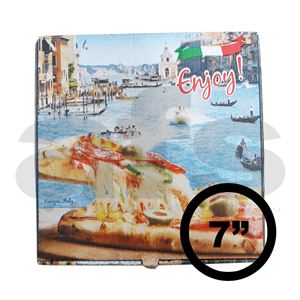 "PIZZA BOX - 7"" VENICE [100 PCS]"