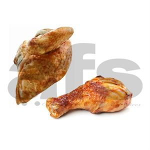 COOKED CHICKEN MIXED [32  X 10/12oz] *H