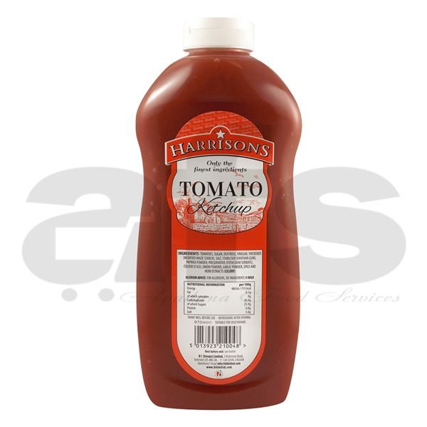 TOMATO KETCHUP HARRISONS [970ML]
