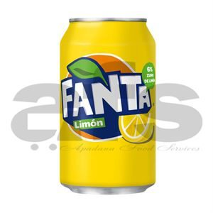 FANTA LEMON CANS [24 X 330ml]