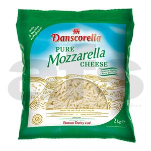 Danscorella 100% Mozzarella Pizza Cheese