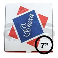 "PIZZA BOX - 7"" WHITE [100 PCS]"